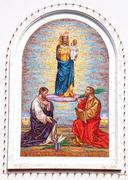 Stock Photo of religious mosaic