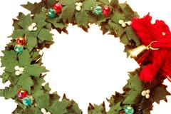 Stock Photo of christmas wreath