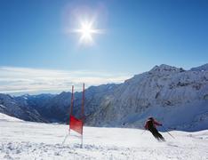 Ski pujottelu Kuvituskuvat