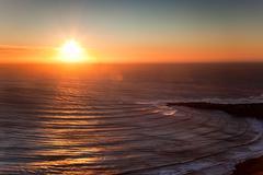 Stock Photo of seascape sunset