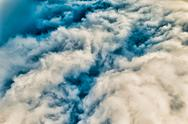 Stock Photo of colorized cloudscape
