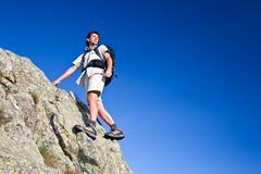 Stock Photo of hiking