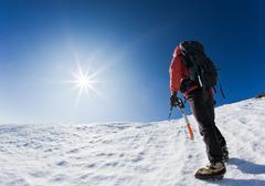 Stock Photo of reaching the summit