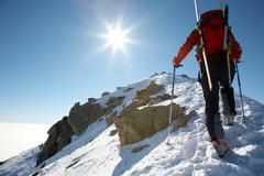 Stock Photo of climber