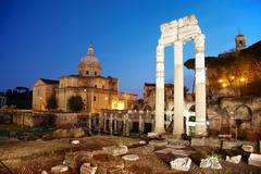 Foro romano - roma Stock Photos