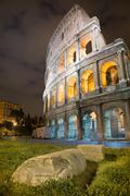 Stock Photo of colosseum rome