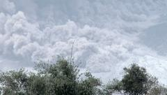4K / HD Pyroclastic Flow During Major Volcanic Eruption - stock footage