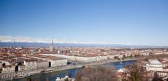Stock Photo of turin panoramic view