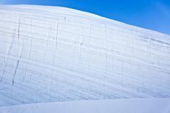 mountain glacier - stock photo