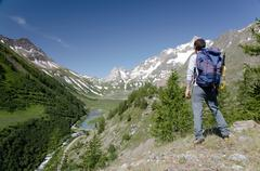 Stock Photo of mountain scenic