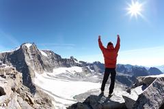 climber - stock photo