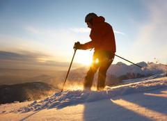 Stock Photo of skier