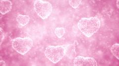 Valentine day background Stock Footage