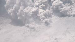 4K / HD Amazing Pyroclastic Flow Volcanic Eruption Rare Footage - stock footage