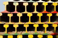 Stack of railway Stock Photos