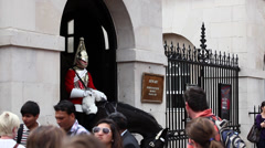 Horseguards, London Stock Footage