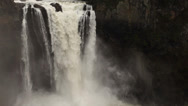 Stock Video Footage of Snoqualmie Falls, Washington