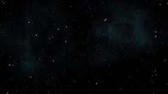 Starry Sky Background Loop 1 Stock Footage