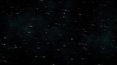 Starry Sky Background Loop 4 Stock Footage