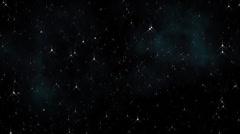 Starry Sky Background Loop 6 Stock Footage