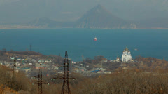 Stock Video Footage of Edge of the world, the easternmost point of Russia - Nakhodka