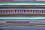 Stock Photo of colorful  fabric alternation pattern
