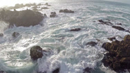 Stock Video Footage of Waves and ocean aerials