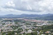 Stock Photo of landscape of phuket town