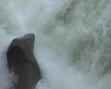 Athabasca Falls, Canada - stock footage