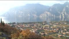 Lake Garda NTSC - stock footage