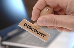 discount - stock photo