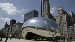 Chicago Time Lapse - stock footage