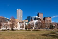 Downtown Denver in Daytime - stock photo