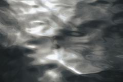 Close up of sunlight reflecting on moving water in puget sound, washington, u Stock Photos