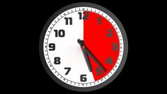 Clock 1 1 PNG - stock footage