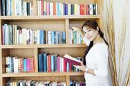 Stock Photo of female librarian