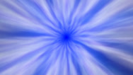Stock Video Footage of Light blue tunnel streaks loop