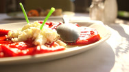 Stock Video Footage of Red peppers - Croatian cuisine