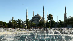 Sultan Ahmet Mosque ( Blue Mosque ) Stock Footage