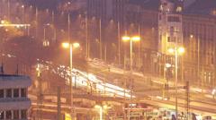Budapest Hungary Winter Timelapse 57 Stock Footage