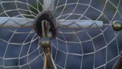 Stock Video Footage of native american indian feather dream catcher 2