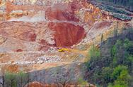 Stock Photo of quarry ore