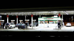 Hess Gas Station Stock Footage