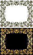 Vintage frames Stock Illustration