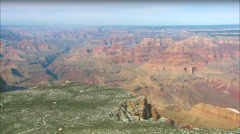 Grand Canyon Aerial Airplane Stock Footage