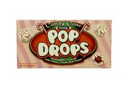 Stock Photo of box of candy cane pop drops