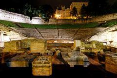 Theatre romano trieste Stock Photos