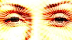 Hypnotizing Eyes - Seamless loop Stock Footage