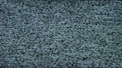 White Noise TV Static Stock Footage
