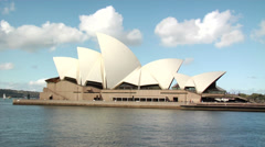 Australia - Passing by Sydney Opera house1 Stock Footage